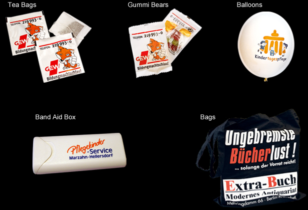 promotion items for special events